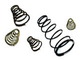 Springs for solenoids